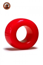 Balls-T Ballstretcher - rouge : Le ball-stretcher phare de la marque Oxballs, en version small, coloris rouge, plus accessible et utilisable pour s'entrainer.