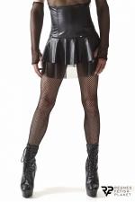 Jupe noire taille haute - Regnes : Jupe taille haute destinée aux hommes souhaitant explorer de nouvelles idées d'eux-mêmes.