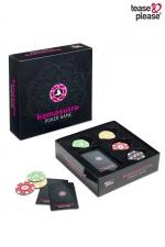 Jeu coquin Kamasutra Poker game : Vous aimez le poker? Vous aimez les jeux coquins et l'univers du Kama Sutra? Le jeu Kamasutra Poker game est fait pour vous !