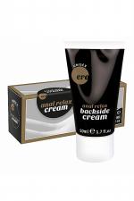 Backside anal relax cream - 50 ml : Crème Relaxante et décontractante spécialement formulée pour la pratique du sexe anal.