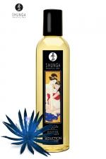 Huile de massage érotique - Fleur de minuit : Huile de massage érotique Séduction au parfum fleur de minuit pour éveiller les sens et la réceptivité amoureuse, par Shunga.