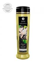 Huile de massage BIO sans parfum - Shunga : Huile de massage érotique BIO naturelle sans parfum par Shunga.
