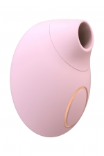 Stimulateur clitoridien sans contact seductive - rose : Stimulateur clitoridien avec technologie sans contact par ondes de pression, pour un plaisir féminin maximal.
