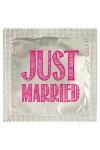 Préservatif humour - Just Married