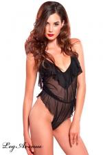 Body Amazing Ruffle : Body sensuel d'intérieur, aux légers drapés affolants.